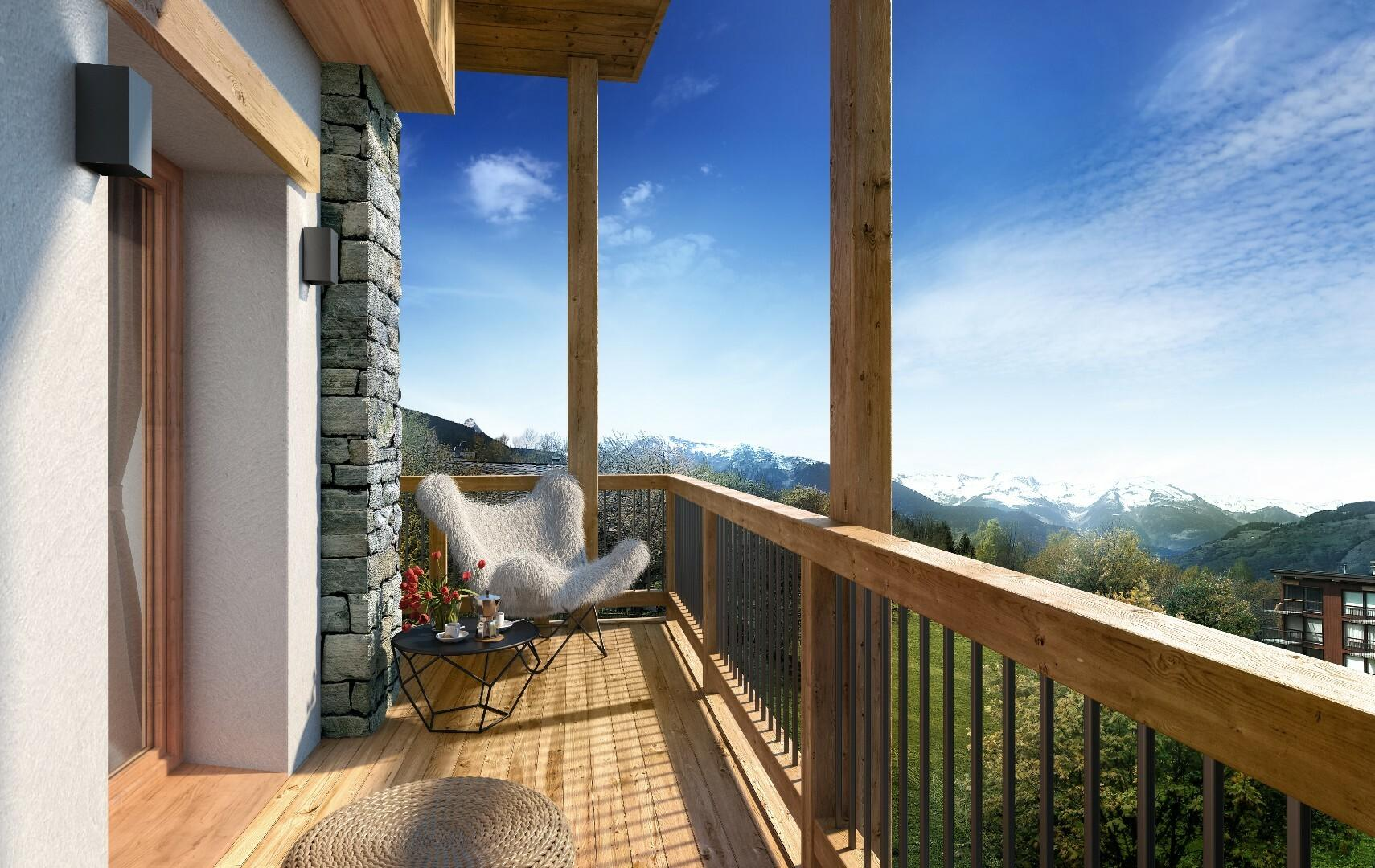 APPARTEMENT NEUF A COURCHEVEL LE PRAZ