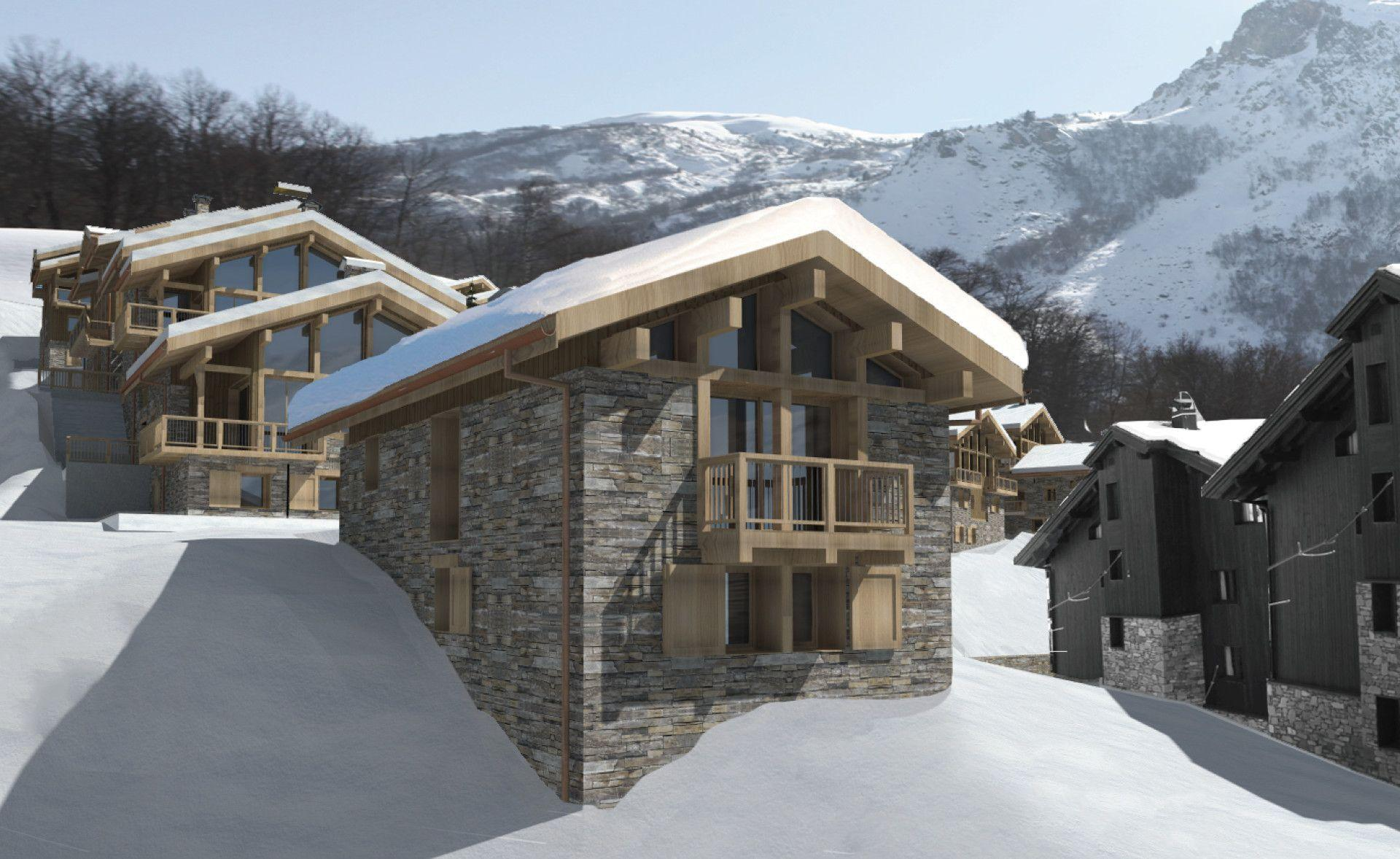 NEW CHALET IDEALLY LOCATED