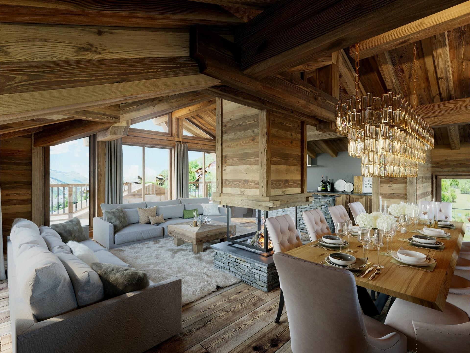 SUPERB NEW CHALET