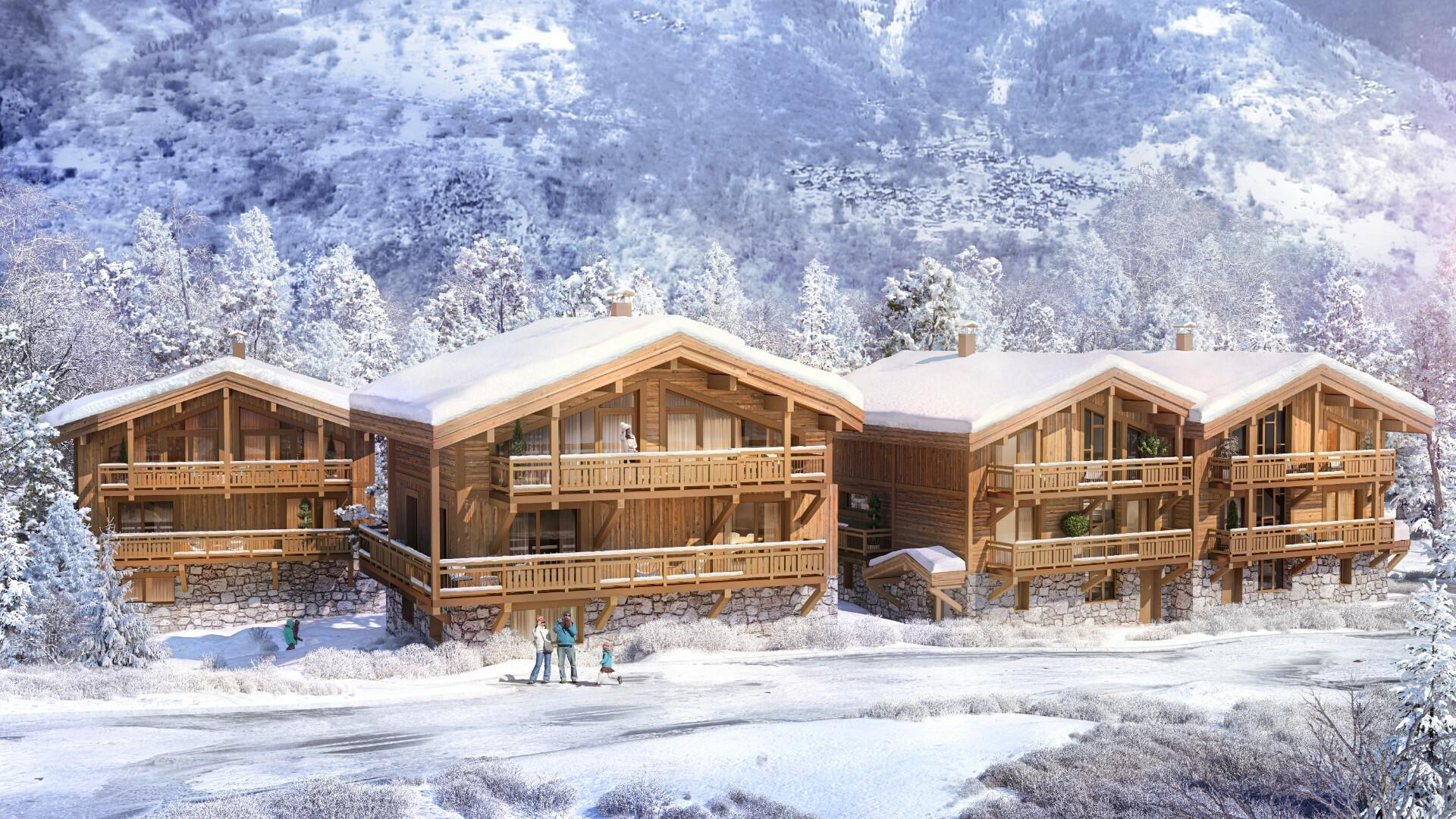 NEW CHALET WITH SWIMMING POOL