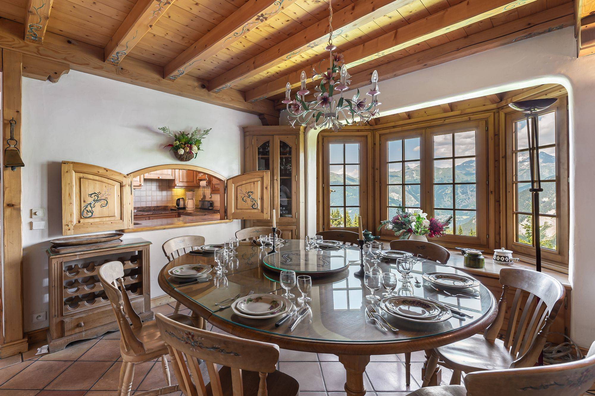 Founets Accommodation in Courchevel