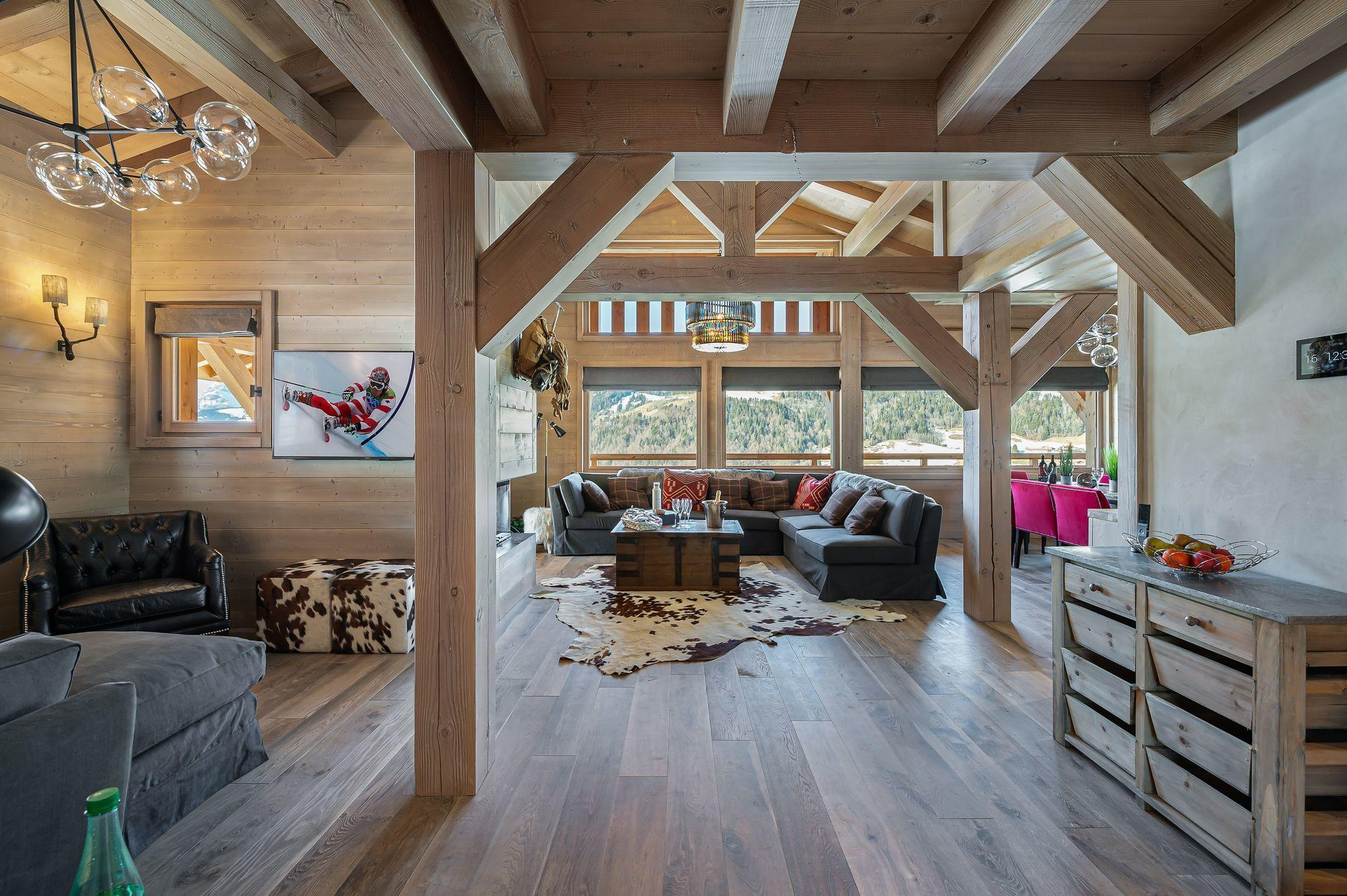 Grey Swan Accommodation in Megeve