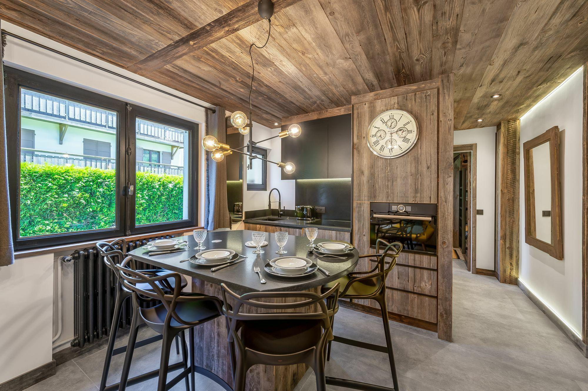 Les Peupliers Accommodation in Megeve