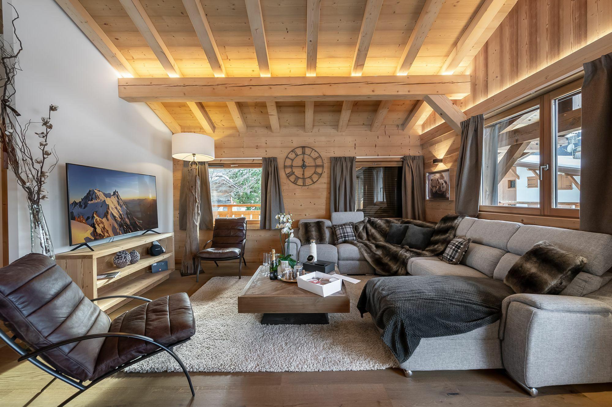 Leonas Accommodation in Megeve