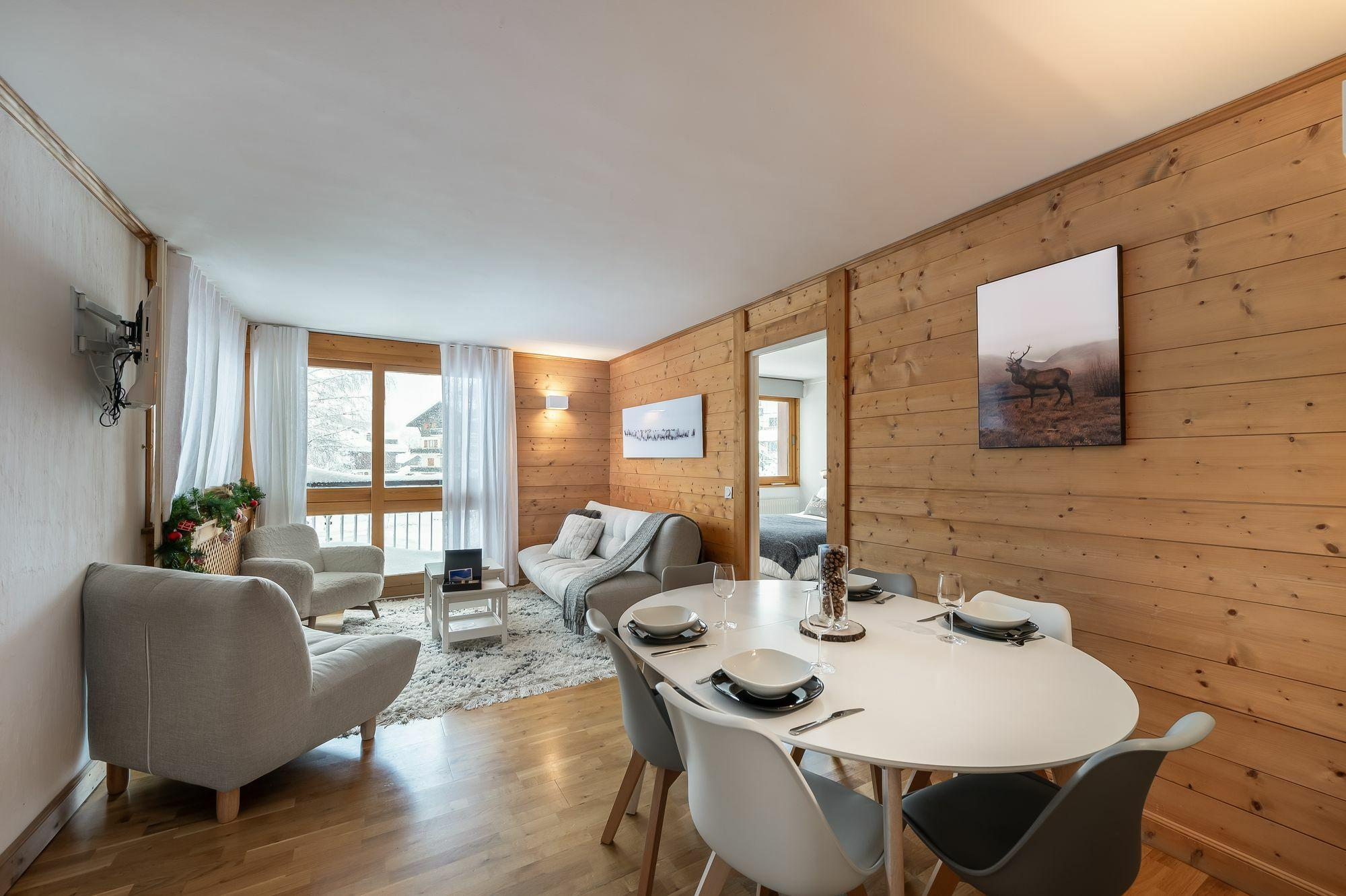 Flocon Accommodation in Megeve