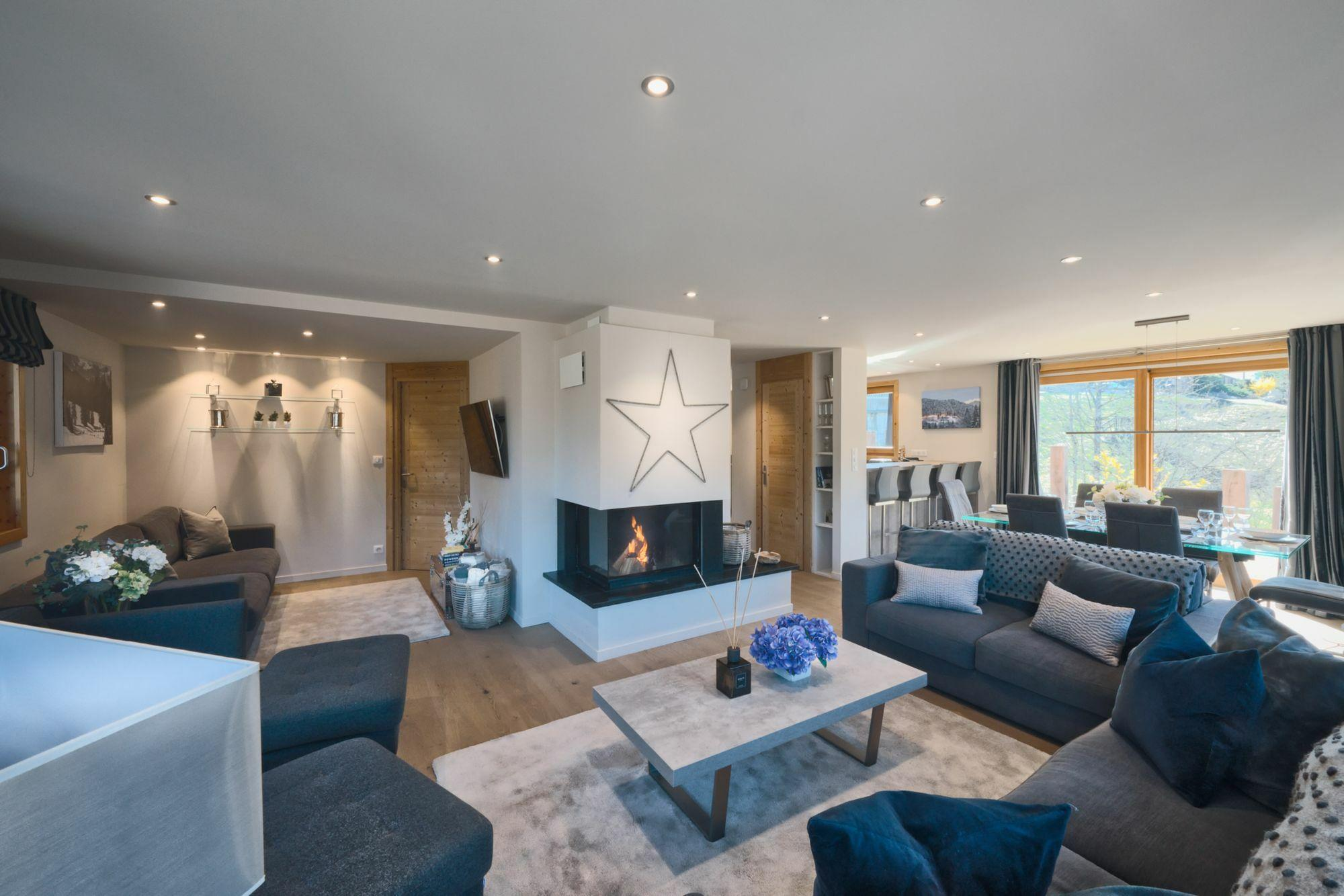 White Accommodation in Morzine