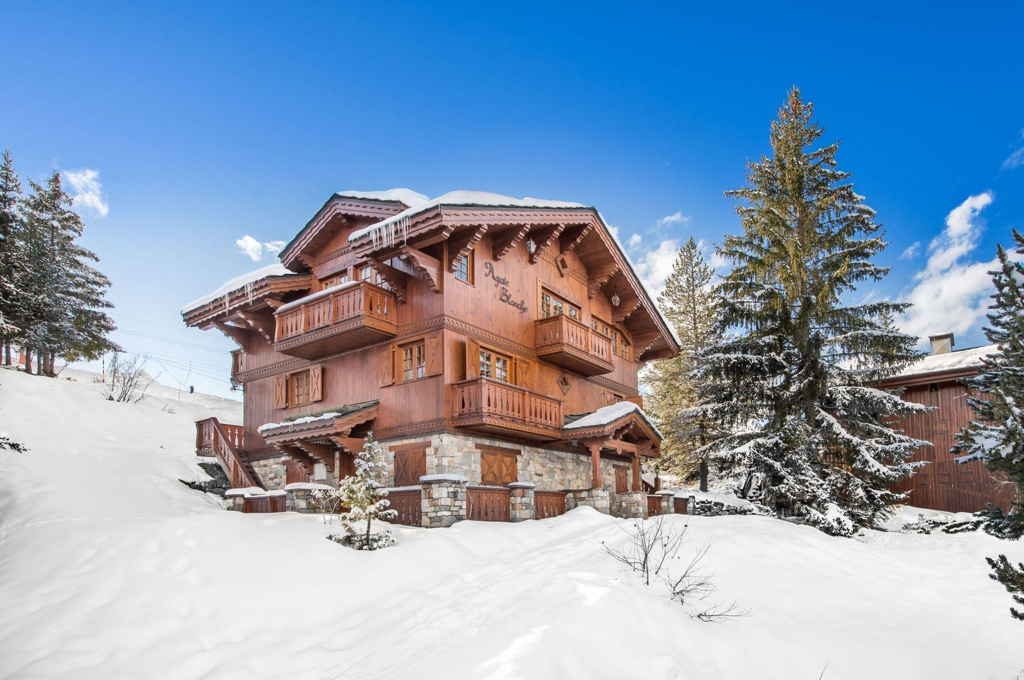 Agathe Blanche Accommodation in Courchevel