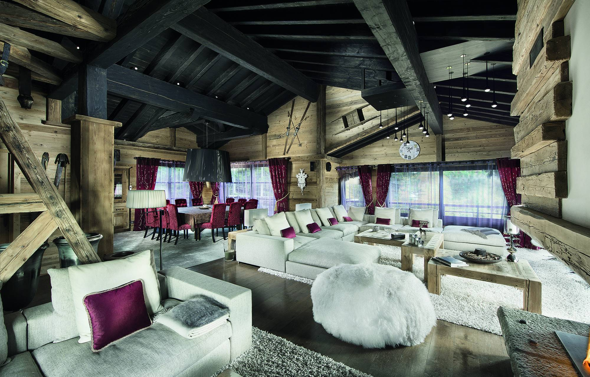 Black Pearl Chalet in Courchevel