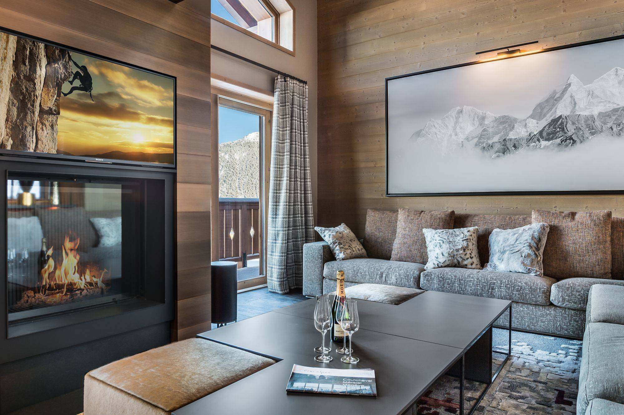 Elixir Accommodation in Courchevel