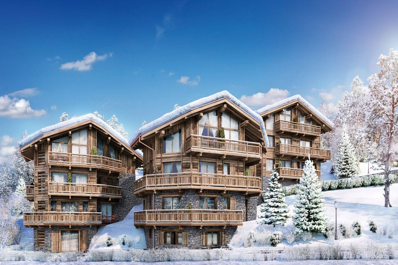 New development: Les Chalets de la Stelvio