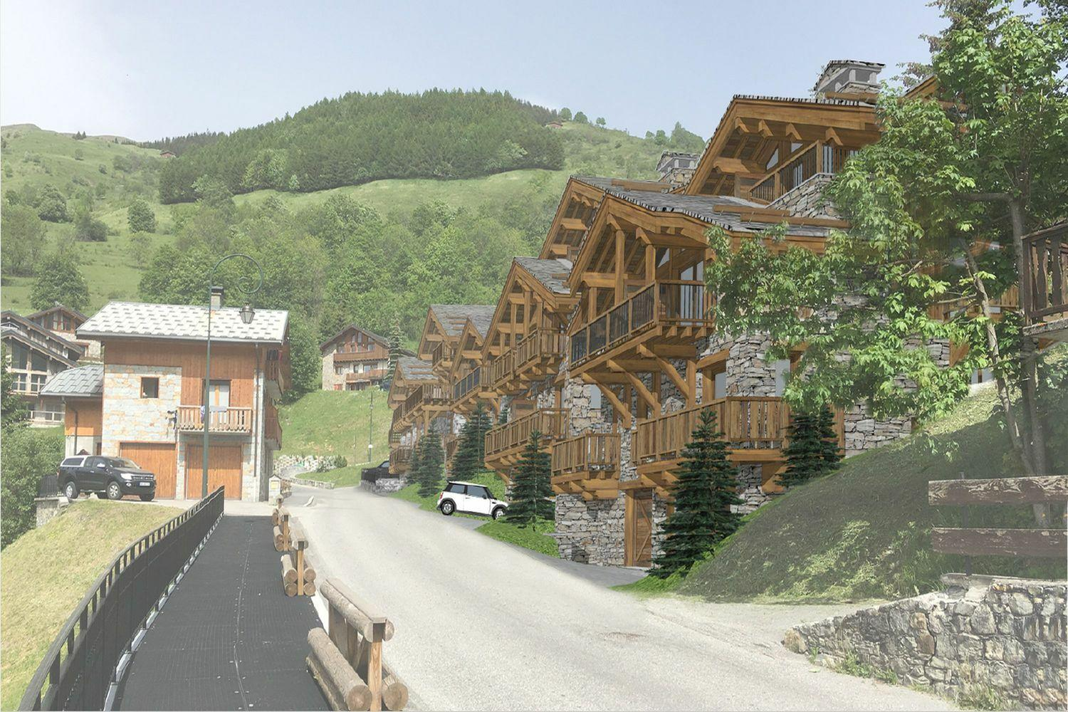 New development : Les Chalets de la Combe