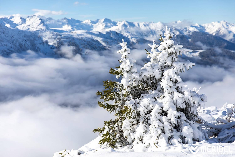 Première neige Méribel | Sylvain Aymoz